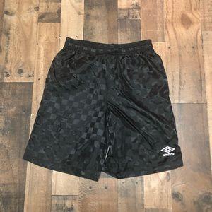 Umbro Checkerboard Soccer Shorts